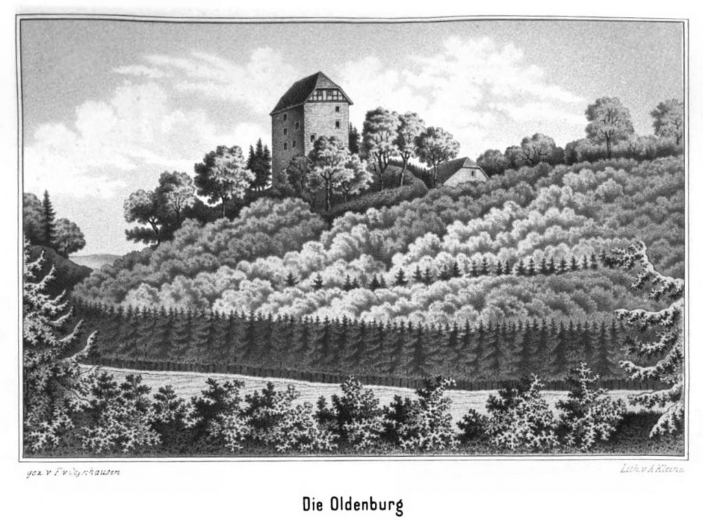 Getreide Abgaben an das Amt Oldenburg