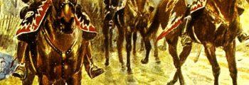 Besetzung durch preußische Husaren